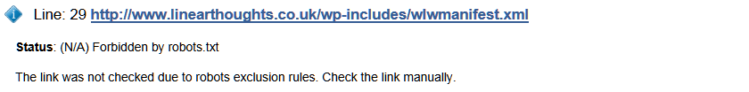 W3C na example