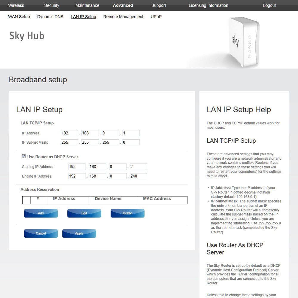 Sky Router Settings >> Sky Sr101 Broadband Router User Review Hardware And Software
