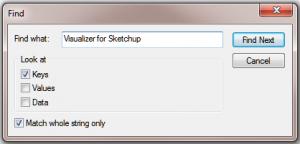 visualizer search box